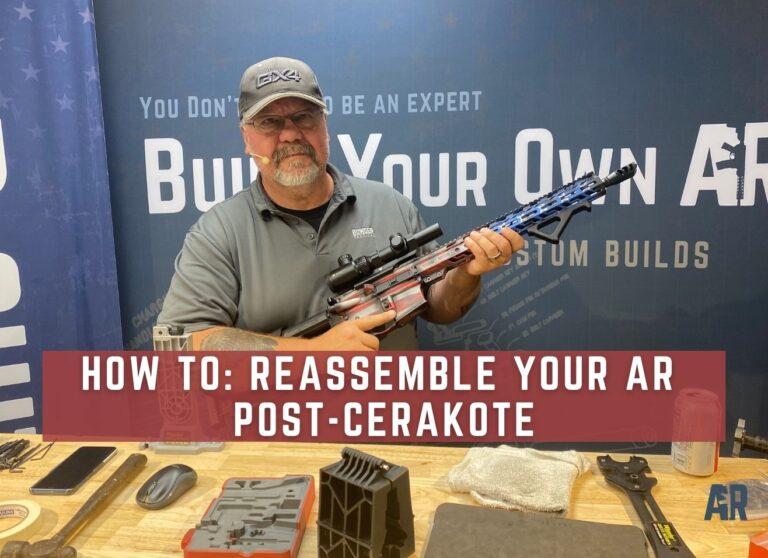 post-cerakote reassembly