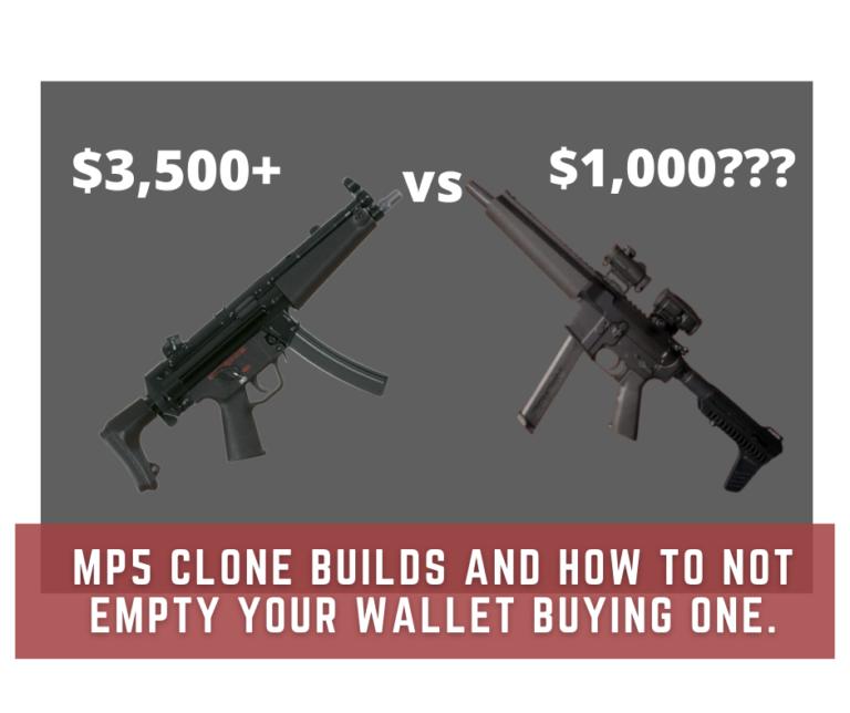 MP5 Clone build prices